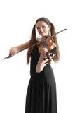 Violinistkatt arkivfoto