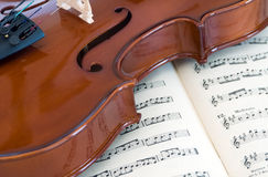 Violino Immagine Stock Libera da Diritti