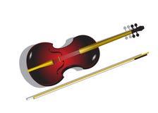 Violino. Immagine Stock Libera da Diritti