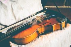Violino fotografie stock libere da diritti