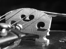 Violino - alto vicino Fotografia Stock Libera da Diritti