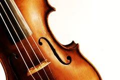 Violino antico Fotografia Stock Libera da Diritti