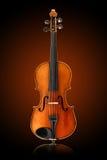 Violino antico Fotografie Stock Libere da Diritti