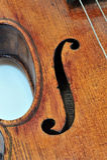 Violino de Antonius Stradivarius Fotos de Stock Royalty Free
