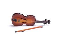 Violino del giocattolo, isolato Immagine Stock Libera da Diritti