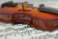 Violino del instrumente di musica Immagini Stock