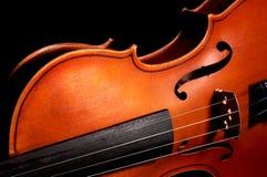 Violino dell'annata Fotografia Stock