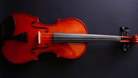 Violino dello strumento musicale Violino antico Strumento a corda Fotografie Stock