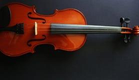 Violino dello strumento musicale Violino antico Strumento a corda Fotografie Stock Libere da Diritti