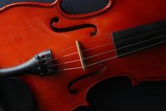 Violino dello strumento musicale Violino antico Strumento a corda Immagini Stock Libere da Diritti