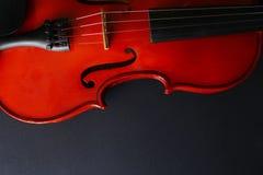 Violino dello strumento musicale Violino antico Strumento a corda Fotografia Stock