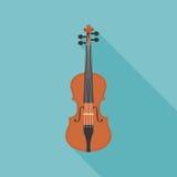 Violino di legno Immagini Stock