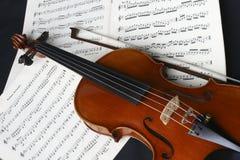 Violino di pratica Fotografia Stock Libera da Diritti
