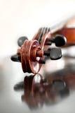 Violino do Fingerboard Foto de Stock Royalty Free