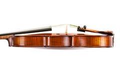 Violino do lado Imagem de Stock Royalty Free