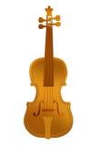 Violino do ouro Foto de Stock