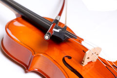 Violino e curva fotos de stock royalty free