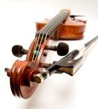 Violino e curva foto de stock royalty free