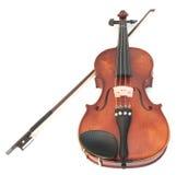 Violino e curva Imagem de Stock Royalty Free