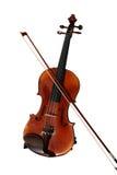 Violino e curva - trajeto de grampeamento Imagens de Stock Royalty Free