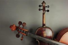 Violino e violoncelo imagem de stock royalty free