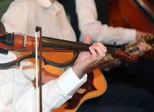 Violino elétrico fotografia de stock royalty free