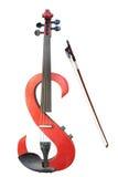Violino elettrico fotografia stock libera da diritti