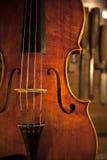 Violino fatto a mano Immagini Stock Libere da Diritti
