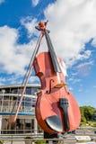 Violino gigante em Sydney foto de stock royalty free