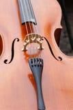 Violino, instrumento de música Fotografia de Stock