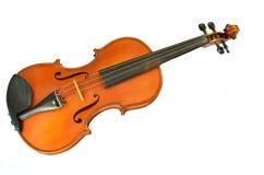 Violino isolato su bianco Fotografie Stock Libere da Diritti