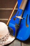 Violino moderno Fotos de Stock Royalty Free