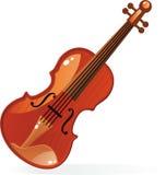 Violino no vetor Foto de Stock Royalty Free
