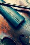 Violino usado Fotos de Stock
