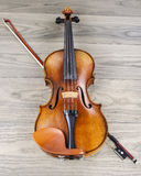 Violino velho Fotos de Stock Royalty Free