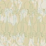 Violinos Ilustração do Vetor