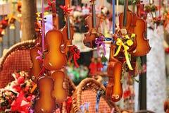 Violinos pequenos Imagem de Stock Royalty Free