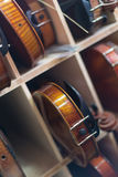 Violins background Royalty Free Stock Photography
