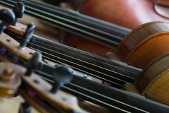 Violins background Stock Photography