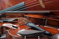 Violins and cello Royalty Free Stock Image