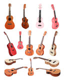 Violins and a fiddlestick Royalty Free Stock Photography