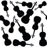 Violins pattern Stock Image