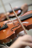 Violins in a Play Royalty Free Stock Images
