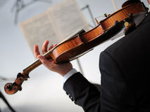 Violinst Royalty Free Stock Photography