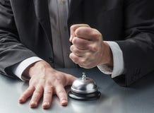 Violência no serviço ao cliente Imagem de Stock