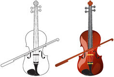 Violon illustration libre de droits