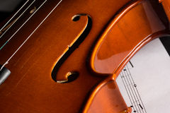 Violon Photographie stock libre de droits