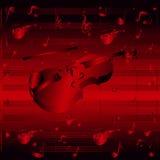 Violon abstrait de fond Photo libre de droits