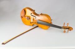 Violon blanc d'instrument de musique de backround photos libres de droits