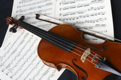 Violon de pratique Photo libre de droits